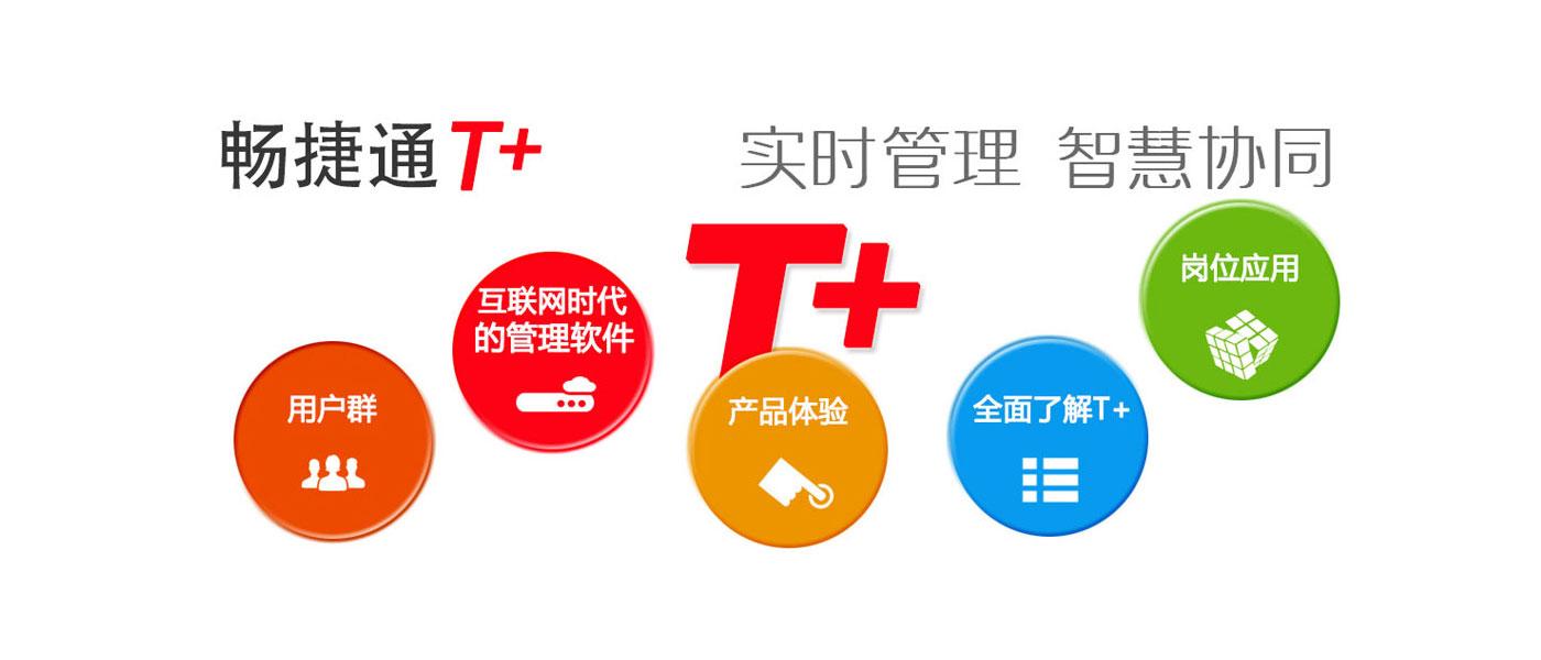 畅捷通T+管理软件